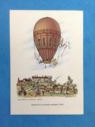 Cartolina Formato Grande Viaggiata - Aerostati Mongolfiera - Aerostato Di Giacomo Garnerin 1805 - Altri