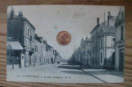 D 54 - Lunéville - Avenue Voltaire - Luneville