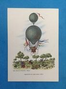 Cartolina Formato Grande Viaggiata - Aerostati Mongolfiera - Aerostato Di Luigi Piana 1853 - Altri