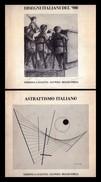 Catalogo Astrattismo Italiano. Disegni Italiani Del '900. - Arte, Architettura