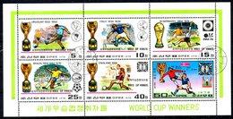 COREE DU NORD. BF Oblitéré. Histoire De La Coupe Du Monde. - World Cup
