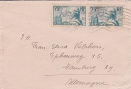 Paire Pilatre De Rozier  En Paire  Destination Allemagne - 1921-1960: Modern Period