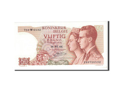 Belgique, 50 Francs, 1966, KM:139, 1966-05-16, NEUF - [ 6] Treasury