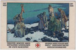 Österreich - Kriegsfürsorge 1916, Farb. Kunstler-Sonderkarte Nr. 146, Gelaufen - Autriche