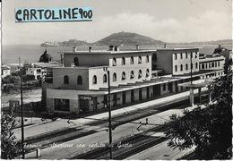 Lazio Latina Formia Stazione Ferroviaria Veduta Interna Stazione Formia Anni 50 - Stazioni Senza Treni