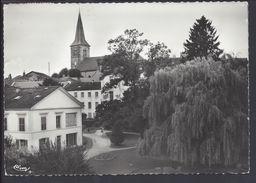 """CPSM 88 - Bains Les Bains """" Un Coin Du Parc St Colomban Et L'Eglise """" - CIM - B/TB - - Bains Les Bains"""