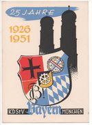 8000  25 JAHRE KDSTV  BAYERN MÜNCHEN   ~ 1950 - Germania