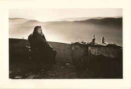 Orson Welles-pendant Le Tournage De Falstaff-1968--repro Cpm - Autres Célébrités