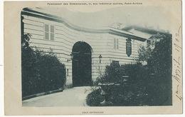 Paris Auteuil Pensionnat Des Dominicaines 57 Rue Theophile Gautier Cour Exterieure  Timbrée 1902 - District 16