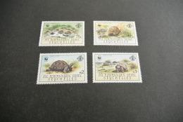 K12141- Set MNH   Seychelles  -  1987 -    Turtles - W.W.F.