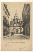 Paris Eglise Russe Russian Church Rue Daru Rite Orthodoxe Timbrée 1901 - Kirchen