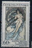 PIA  -  CECOSLOVACCHIA  -  1969  : La Donna R L' Arte - Quadro Di Alfons Mucka -    (Yv  1732) - Altri