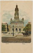 Paris Eglise Trinité Pionniere Colorisée - Kirchen