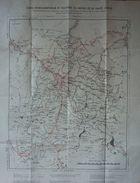 Carte Hydrographique Et Routière Du Bassin De La Haute Ariège - Geographical Maps