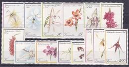 Vanuatu N°643/656 - Orchidées - 14 Valeurs - Neufs ** - Superbe - Vanuatu (1980-...)