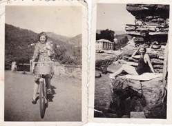 RAPALLO  - LOTTO DI DUE FOTO DEGLI ANNI 40 - CON DIDASCALIA SUL RETRO - Lieux