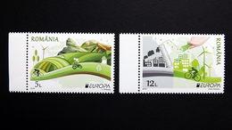 Rumänien 7067/8 **/mnh, EUROPA/CEPT 2016, Umweltbewußt Leben - Blocs-feuillets