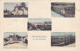 Neufchâteau Et Ses Environs (multivues, Edit Alb. Petit, Marco Marcovici, 1908) - Neufchâteau