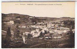 24    SARLAT  VUE    PANORAMIQUE  ET  COTEAU  DE TEMNIAC     TBE   1H872 - Sarlat La Caneda