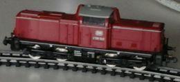 Trains électriques, Echelle N - Locomotive Diesel - DB, Deutsche Bahn - V100 - LIMA - Locomotives