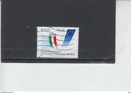 ITALIA 2003 - Sassone  2695° - Consiglio Europa - 6. 1946-.. Repubblica