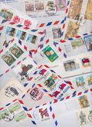 CHINE - REPUBLIC OF CHINA - TAÏWAN - Beau Lot Varié De 260 Enveloppes Timbrées Et Entiers Postaux Air Mail Covers Stamp - 1949 - ... People's Republic