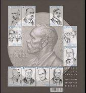 Belgium 2016 Science, Famous People, Personalities, Nobel Prize Laureates - Blocks & Kleinbögen 1962-....