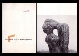 Catalogo Mostra Harry P. Rosenthal Scultore. Galleria D'Arte Borgonuovo - Milano Dal 28 Aprile 1970 - Arte, Architettura