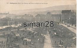 BELLEGARDE - N° 51 - LE CHAMP DE FOIRE - LA MAIRIE ET LES ECOLES - Bellegarde-sur-Valserine