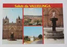 CALTANISSETTA - Saluti Da Vallelunga Pratameno - 4 Vedute - 1989 - Caltanissetta