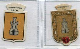 Emblemas De La  Ciudad  De  TORROELLA   (  30ctms  Y 1 Pts )-B135 - Cromos Troquelados