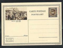 Carte Neuve N° 12. 14. + Obl. Mécanique 25 En Rouge  (Heyst-Aan-Zee ) La Foule - Entiers Postaux