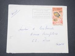 FRANCE / COTE DES SOMALIS - Enveloppe De Djibouti Pour Riom En 1966 , Affranchissement Poisson - L 9356 - Côte Française Des Somalis (1894-1967)