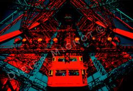 """"""" L' Ascencion - Tour Eiffel """"   Original - Autres Collections"""