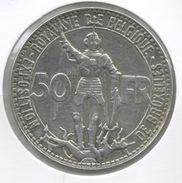 LEOPOLD III * 50 Frank 1935 Frans  Pos.B *  Prachtig / F D C * Wereldtentoonstelling 1935 * Nr 6362 - 08. 50 Francs