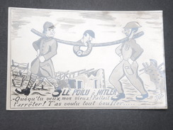 FRANCE - Carte Postale Anti Hitler - L 9374 - Humoristiques