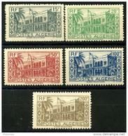 Algerie (1944) N 200 à 204 * (charniere) - Ongebruikt