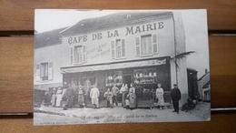 Cpa 95 Boissy L'aillerie Café De La Mairie - Boissy-l'Aillerie