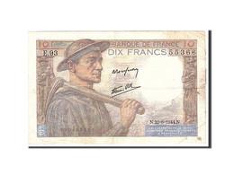 France, 10 Francs, 1944, 1944-06-22, KM:99e, TTB - 1871-1952 Circulated During XXth