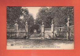 * CPA..dépt 92..BOURG La REINE  :  Entrée Du Château De La Marquise De Trèvise..n°63  :  Voir 2 Scans - Bourg La Reine