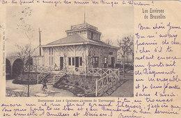 Restaurant Aux 3 Couleurs (avenue De Tervueren) (animation, 1900) - Tervuren