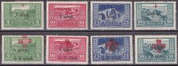 Hmö_  Albanien  - Mi.Nr. 96 - 103 - Ungebraucht Mit Falzrest MH - Albanië