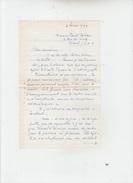 LETTRE AUTOGRAPHE De RENE DORIN Dramaturge Et Chansonnier à PAUL COBAN Poëte - Autographs