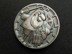 Broche -  CARNAVAL DE BALE  Suisse - FASNACHT 1991 - Argent - Jetons & Médailles
