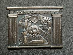 Broche -  CARNAVAL DE BALE  Suisse - FASNACHT 1993 - Argent - Jetons & Médailles