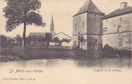 St Mard-lez-Virton - L'Eglise Et Le Château - Virton