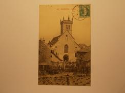 Carte Postale -  MORESTEL (38) - L'Eglise (1441) - Morestel