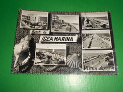 Cartolina Saluti Da Igea Marina - Vedute Diverse 1955 Ca - Rimini