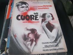 "SPARTITO ""UN CUORE"" SANREMO 1955 - Partitions Musicales Anciennes"
