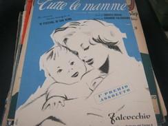 """SPARTITO """"TUTTE LE MAMME"""" IV FESTIVAL DI SANREMO - Partitions Musicales Anciennes"""